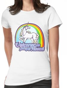 Unicorns Are Just Gay Horses Womens Fitted T-Shirt