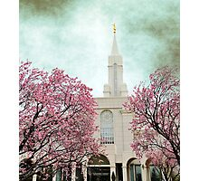Bountiful LDS Temple - Spring Photographic Print
