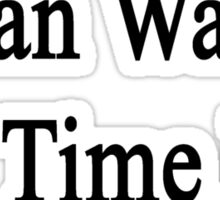 Social Media Can Wait It's Time For English  Sticker