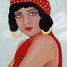 Sabine in a Red Hat by Rachel Ireland-Meyers