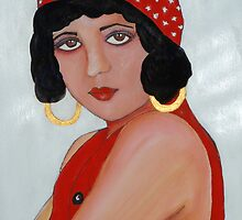 Sabine in a Red Hat by Rachel Ireland-Meyers