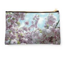 Pink Blossom, Blue Sky Studio Pouch