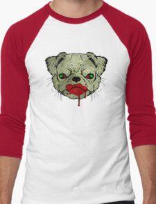 Zombie Pug! Men's Baseball ¾ T-Shirt