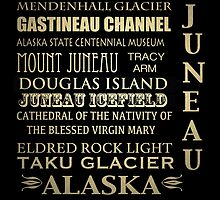 Juneau Alaska Famous Landmarks by Patricia Lintner