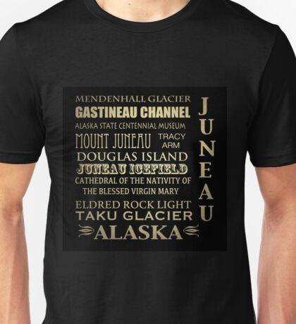 Juneau Alaska Famous Landmarks Unisex T-Shirt