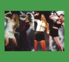 Taylor Swift- Fearless Era to 1989 Era  Baby Tee