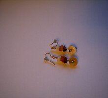 Pretty earrings - handmade by anaisnais
