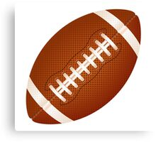 football ball Canvas Print