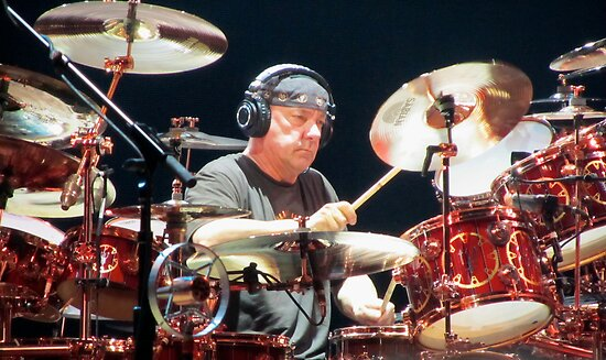 Neil Peart by ProgNozzle