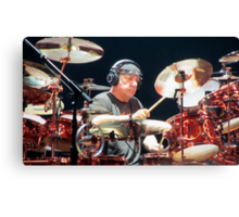 Neil Peart Canvas Print