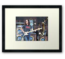 Geddy Lee Framed Print