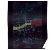 USGS Topo Map Washington Umatilla 244407 1962 24000 Inverted Poster