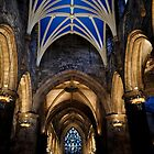 St Giles Interior by Tiffany Dryburgh