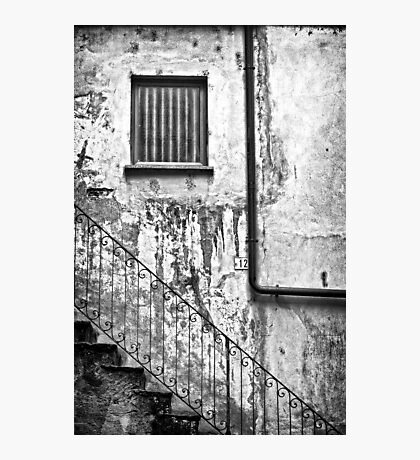 Stairs :: Window :: Drainpipe Photographic Print