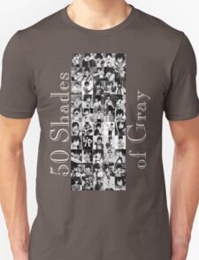 50 Shades of Gray Fullbuster - white txt Unisex T-Shirt