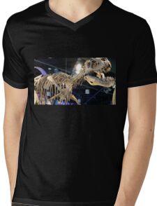 King's Bones Mens V-Neck T-Shirt