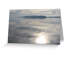 Still Cool Waters Greeting Card