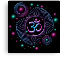 Space OM Canvas Print
