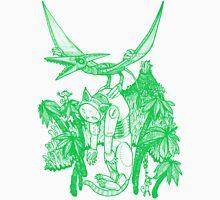 pterodactyl pilot green Unisex T-Shirt