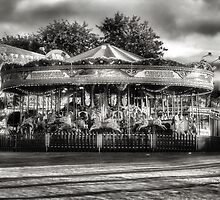 A Quiet Day At The Fairground by WOBBLYMOL