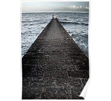Dawlish Breakwater Poster