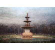Exhibition Fountain (Hochgurtel Fountain), Carlton Gardens Photographic Print