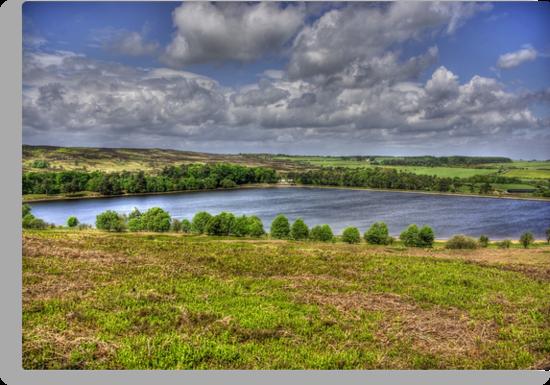 Lockwood Beck Lake by Trevor Kersley