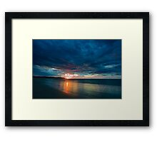 ECO Beach Framed Print