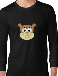 Sandy Cheeks t-shirt without helmet Long Sleeve T-Shirt