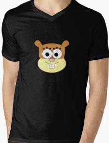 Sandy Cheeks t-shirt without helmet Mens V-Neck T-Shirt