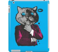 Business Cat iPad Case/Skin