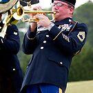 Army trumpet player by piwaki