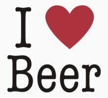 I <3 Beer by Stefan Goldman