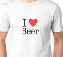 I <3 Beer Unisex T-Shirt
