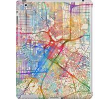 Houston Texas City Street Map iPad Case/Skin