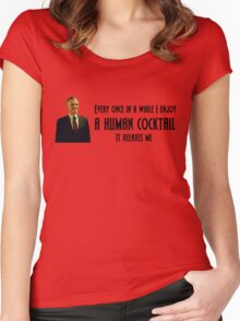 Eichhorst's Human Cocktail Women's Fitted Scoop T-Shirt