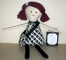 Handmade rag doll - Helen by Naomi  O'Connor