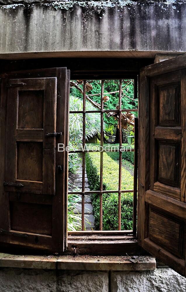 Yengo Garden Window - Mt Wilson NSW Australia by Bev Woodman