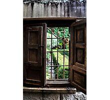 Yengo Garden Window - Mt Wilson NSW Australia Photographic Print