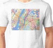 New York City Street Map Unisex T-Shirt