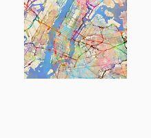 New York City Street Map Unisex T-Shirt
