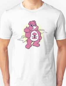 Don't Care Bear (pink) T-Shirt