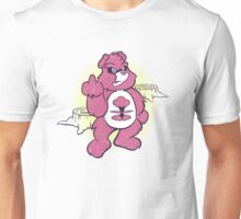 Don't Care Bear (pink) Unisex T-Shirt