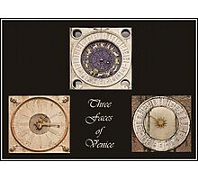 Timepiece Triptych Photographic Print