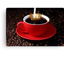 Cup of coffee Canvas Print