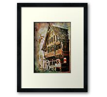 OLD HOUSE.... Framed Print