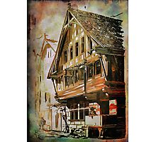 OLD HOUSE.... Photographic Print