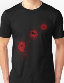 Bloody Bullet Holes T-Shirt