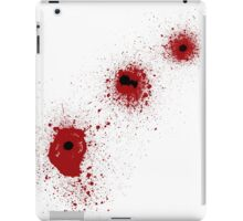 Bloody Bullet Holes iPad Case/Skin