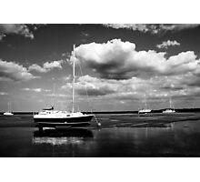 Light ships Photographic Print